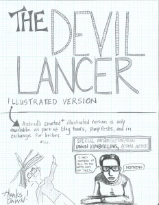 The Devil Lancer Comic