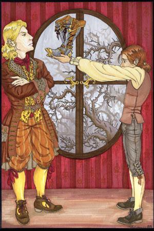 Lord Ronan's Shoes by Astrid Amara